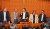 15.06.2015 - Il Sindaco Luigi Brugnaro incontra la stampa