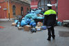 15.12.2011 - Carico merce contraffatta dal deposito Polizia Municipale