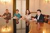 26.11.2015 - L'Assessore Simone Venturini alla conferenza stampa -  Banco alimentare