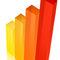 Barre di colore e altezza diversi
